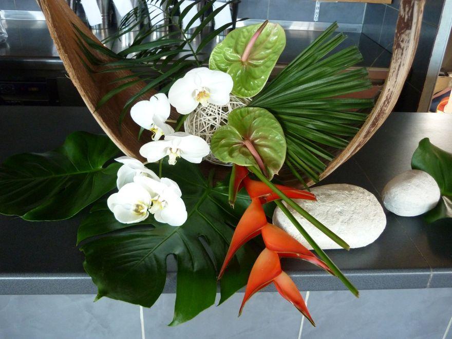 D co mariage nature exotique recherche google mon for Bouquet exotique