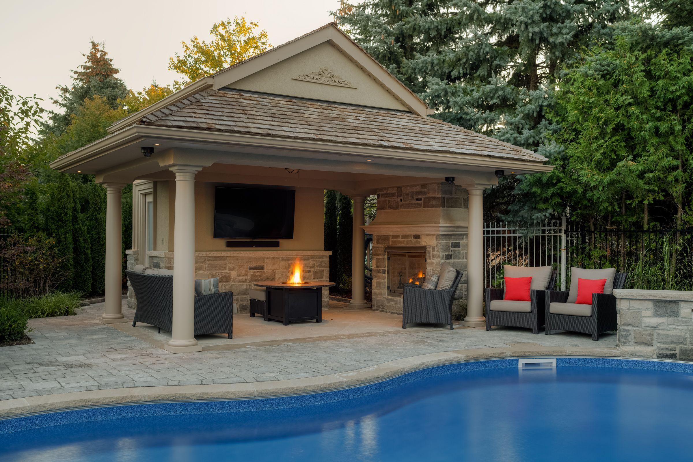 Darsan Landscape Design Build Cabanas And Pool Houses Pool