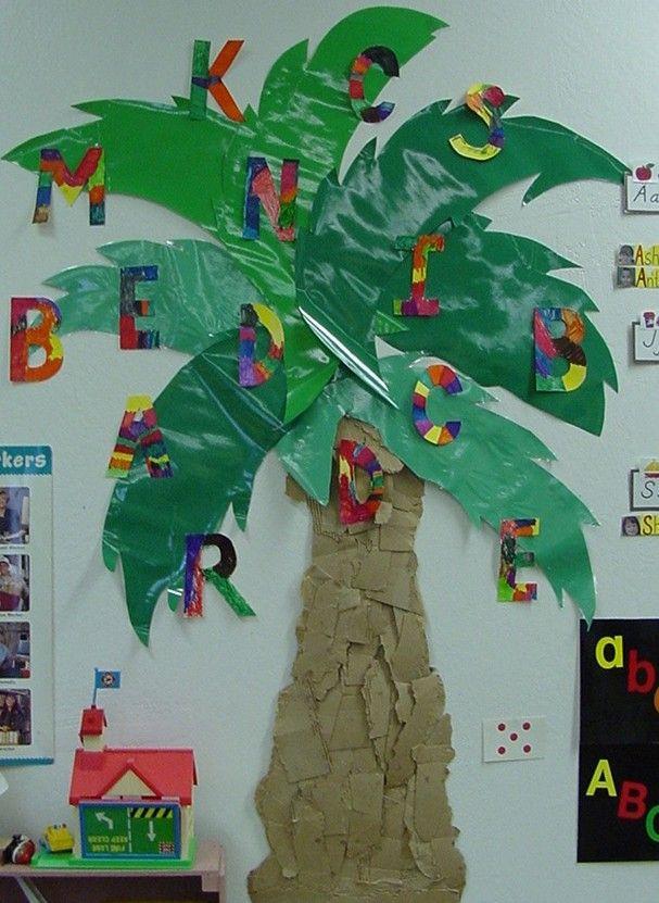 Tree Classroom Theme Welcome To Kindergarten Learning