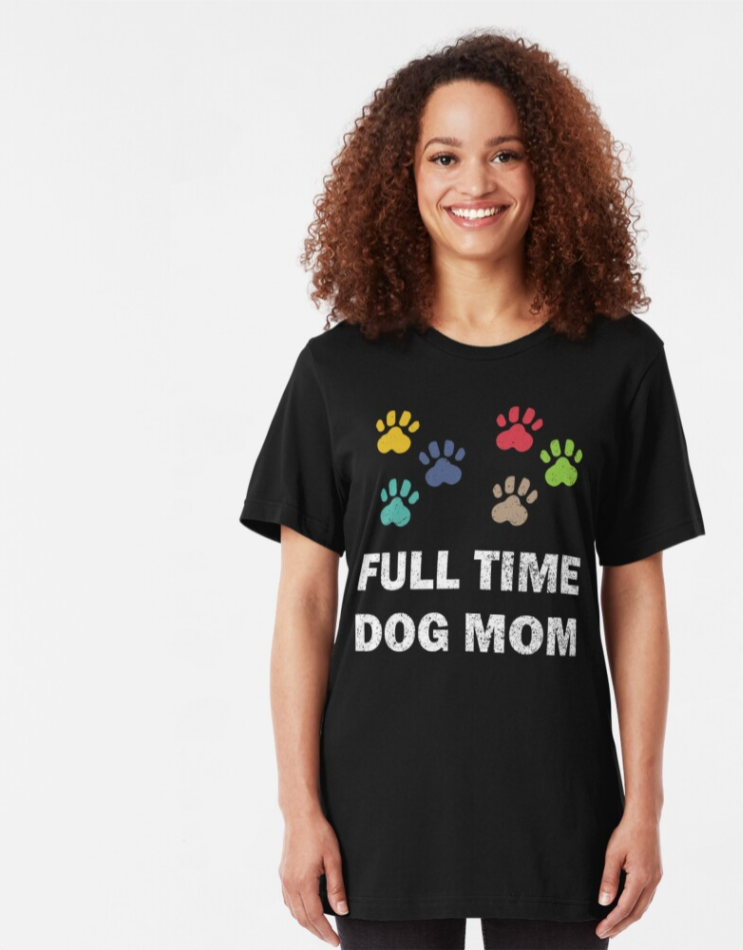 birthday gift for dog mom love paw shirt fur mama graphic tee cute dog lover gift Dog paw print shirt mother/'s day gift for dog mom