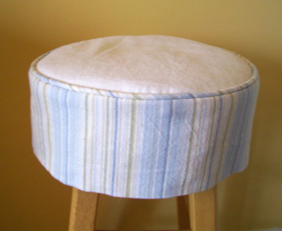 round barstool slipcover with cushion bar stool covers diy