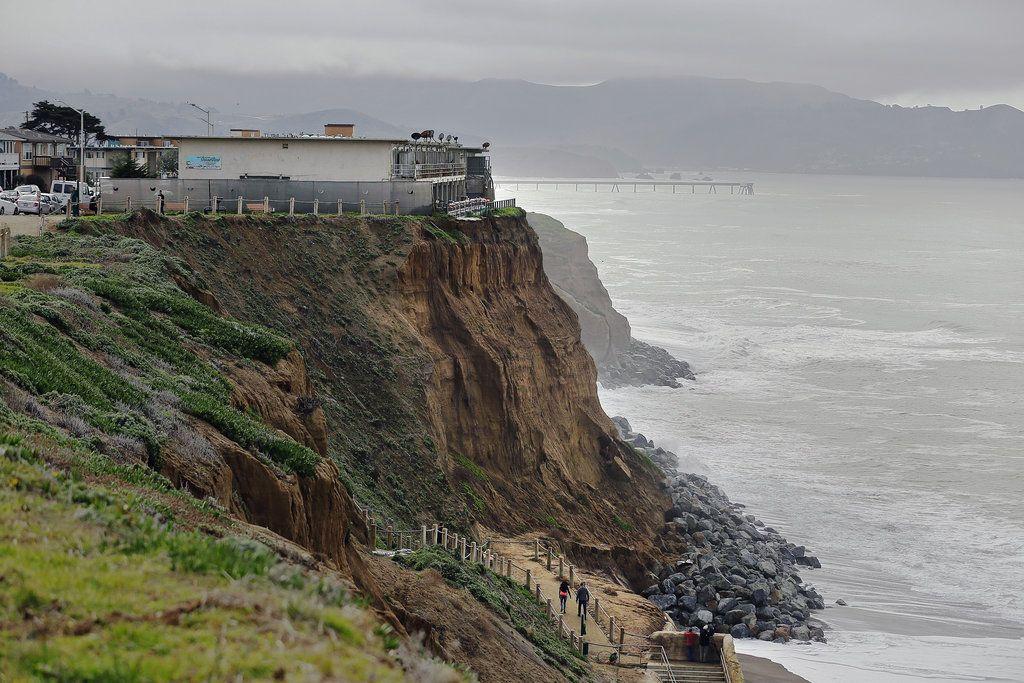 El Niño Storms Put Pacifica Cliff Apartments at Risk