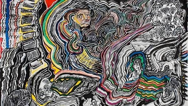Pinturas de Luis Felipe Noé