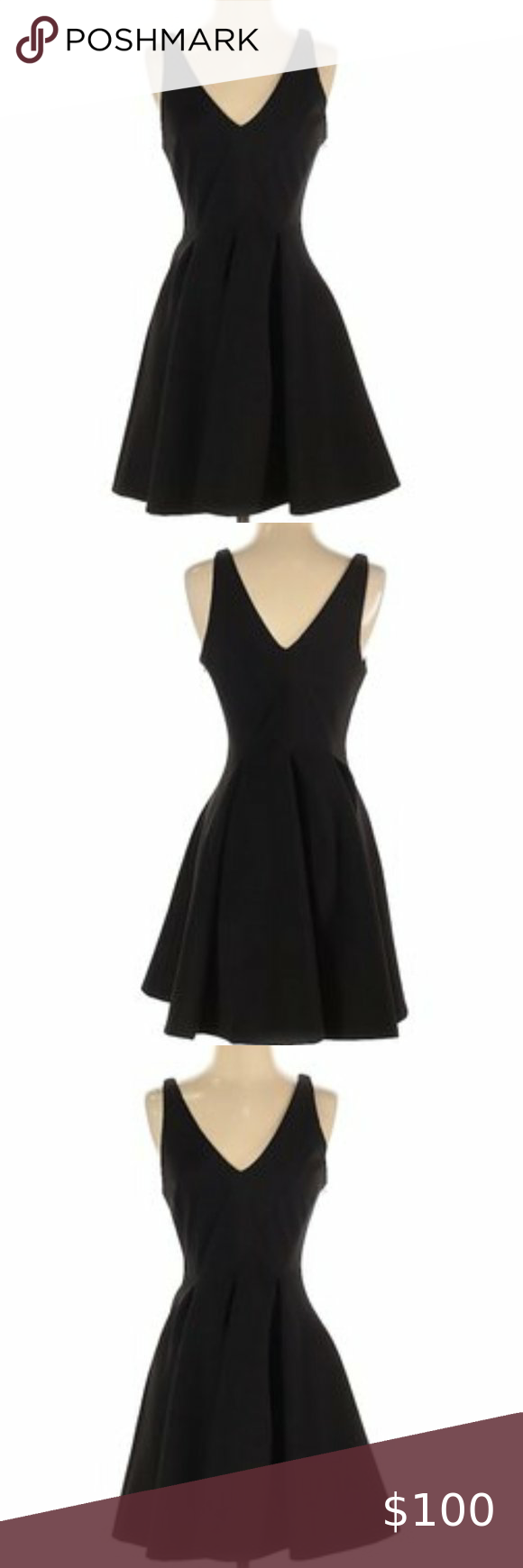 Jay Godfrey Fit And Flare Little Black Dress Little Black Dress Black Dress Dresses