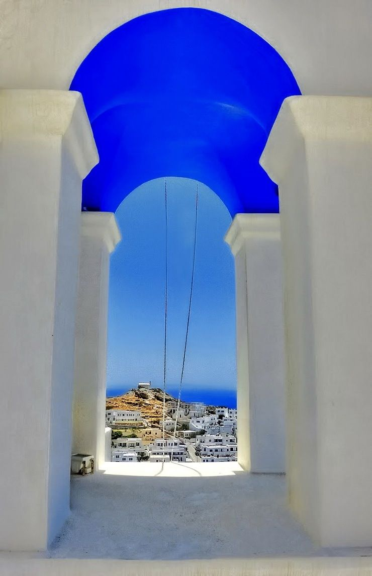 Blue of Ios Island, Greece. Another place I'd like to spend more time!
