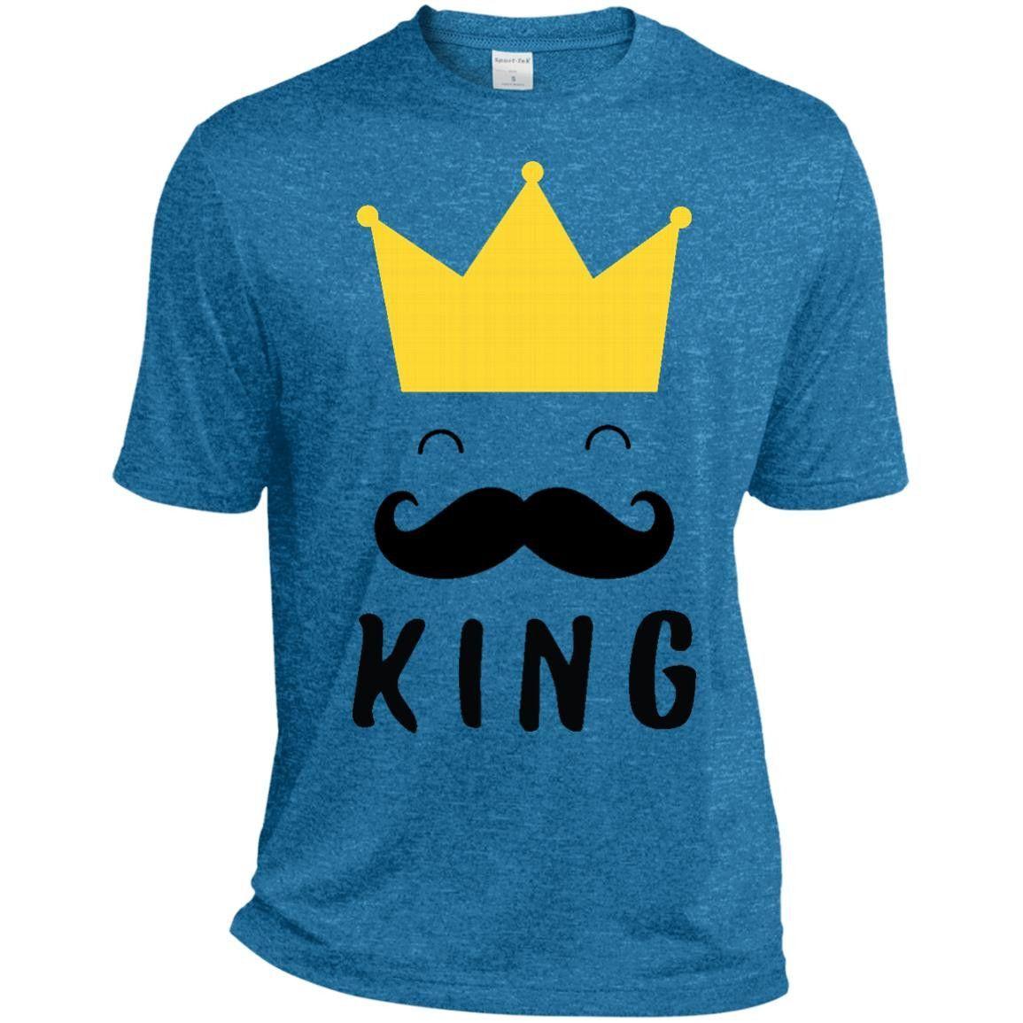 king - daddy my king-01 ST360 Sport-Tek Heather Dri-Fit Moisture-Wicking T-Shirt