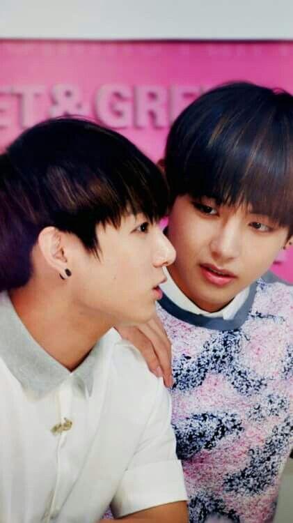 Jungkook comfirma su relacion con Tahyung pero en secreto??