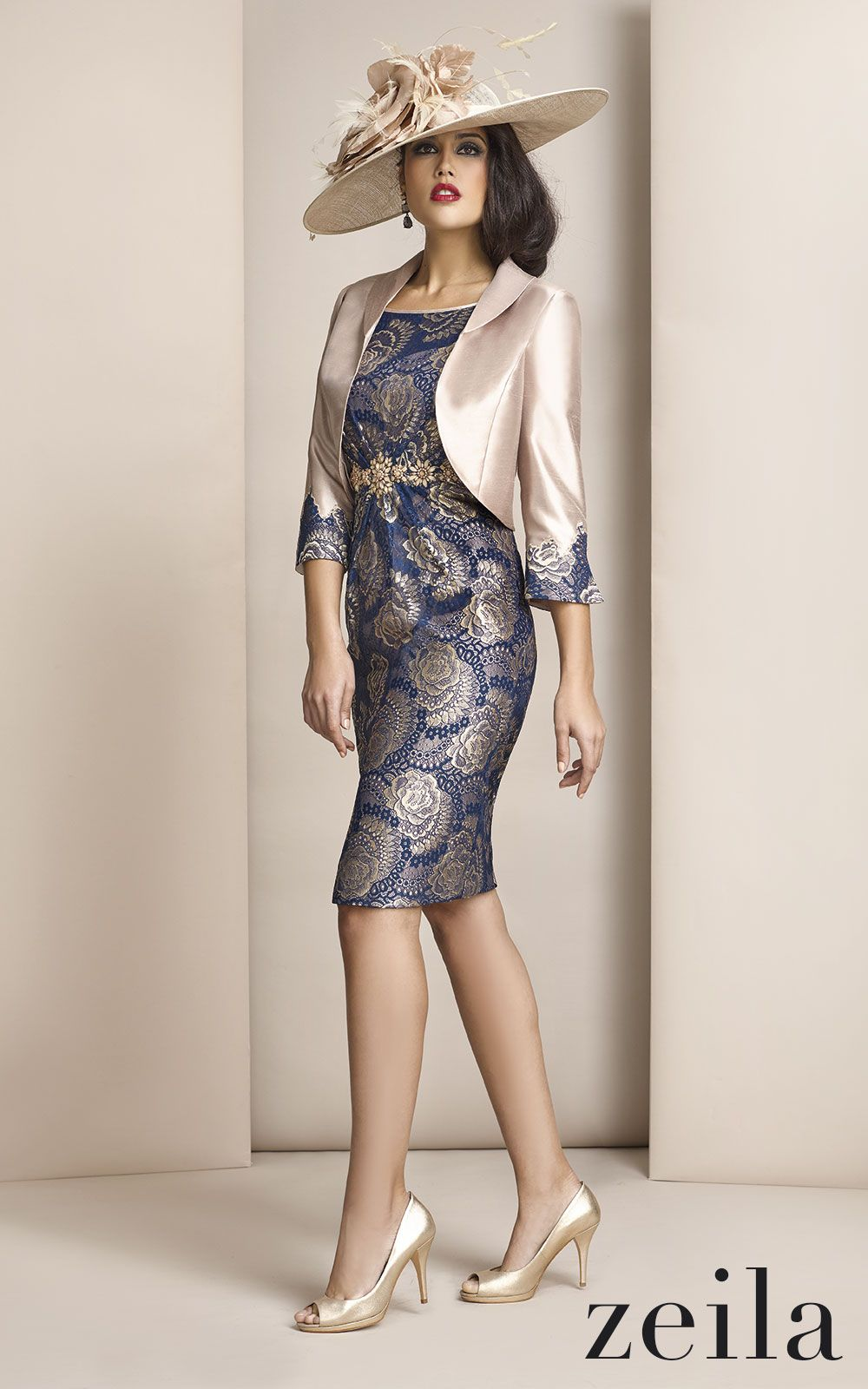A gorgeous outfit from zeila for a mother of the bride - Carla ruiz valencia ...