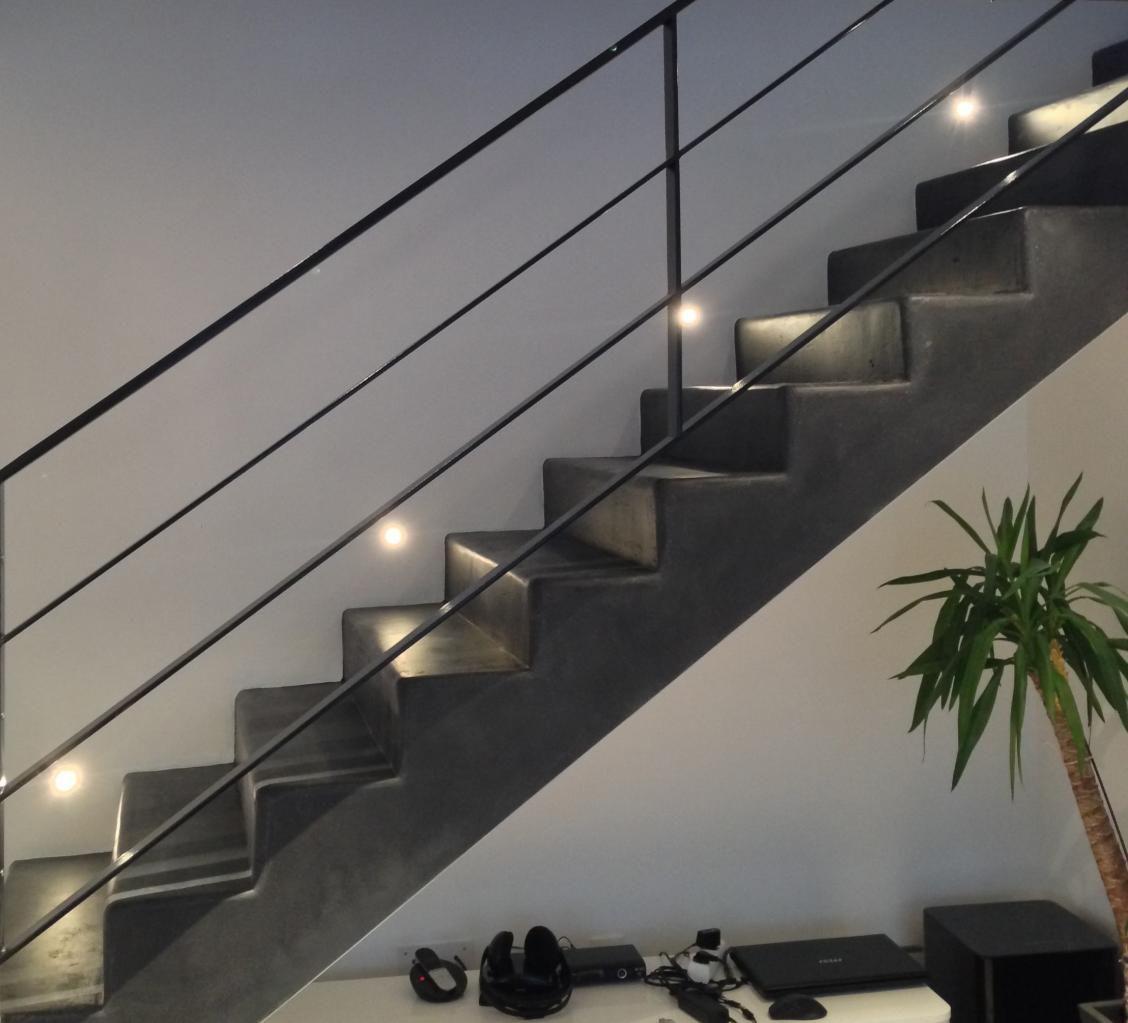 garde corps m tallique en plats acier architecture et. Black Bedroom Furniture Sets. Home Design Ideas
