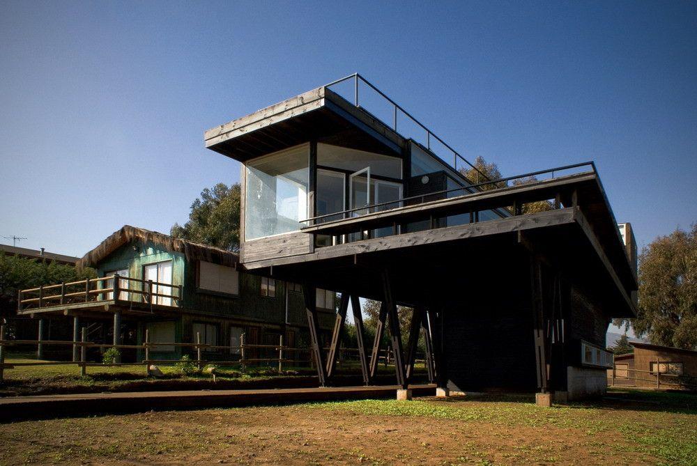 Casa Cerro Tacna Drn Architects Planes De Casa De Playa