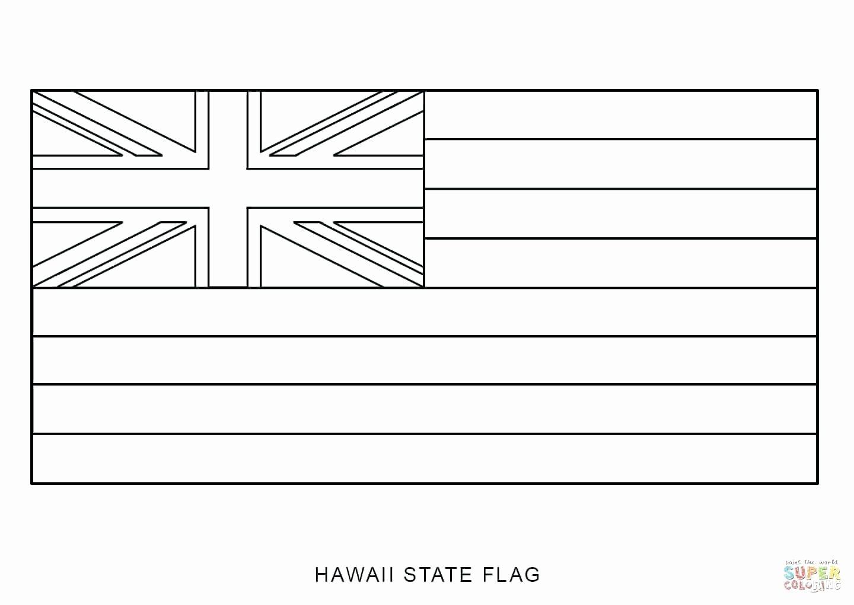 Hawaiian Shirt Coloring Page Unique Hawaii Flag Coloring