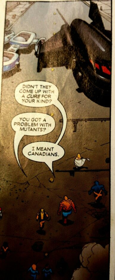 Wolverine... Those Canadians:)