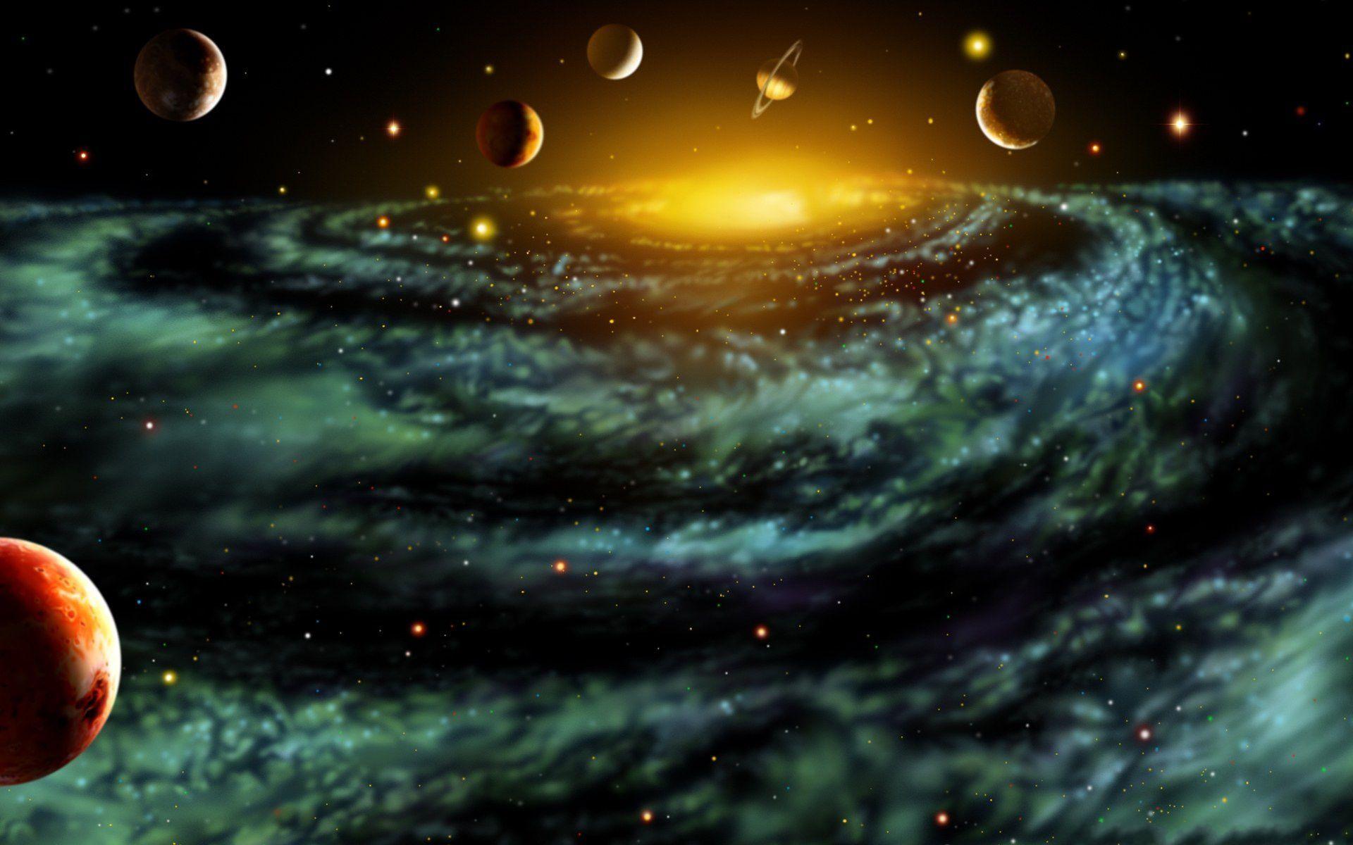 """Résultat de recherche d'images pour """"pictures of the universe and planets"""""""