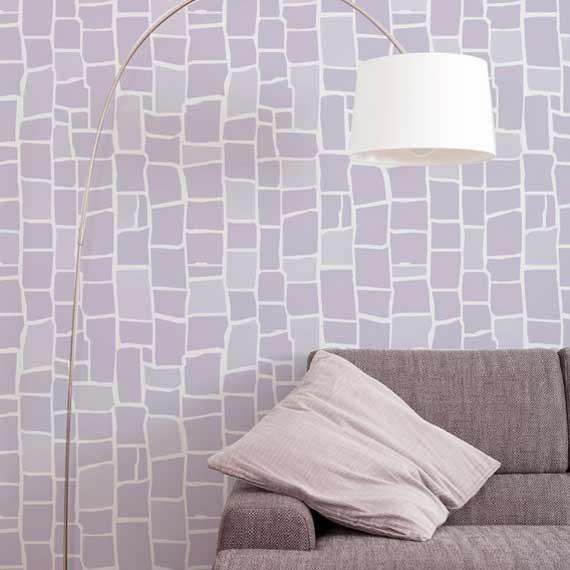 DIY Mosaic Tile Wall Stencils for Painting - Royal Design Studio