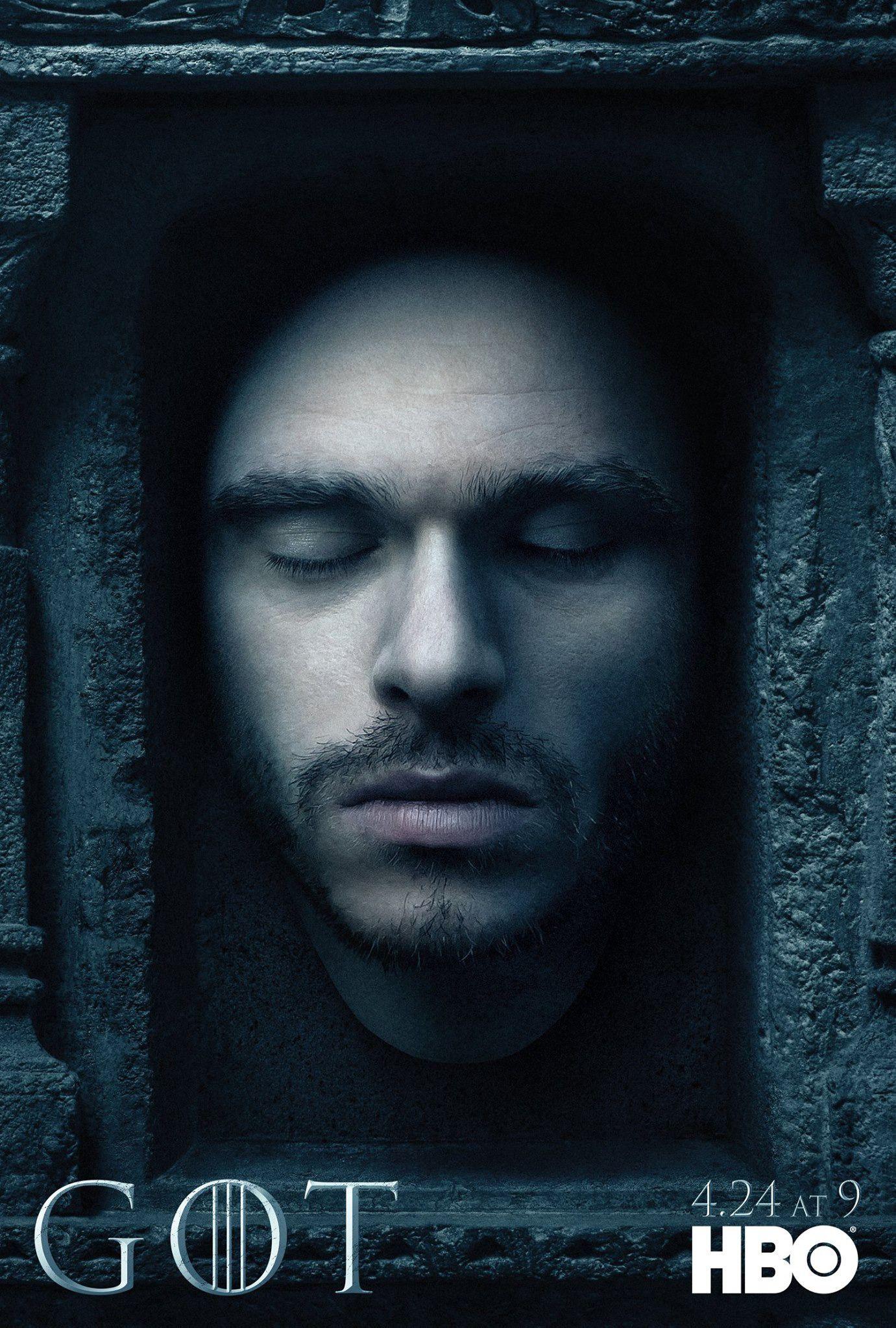 Season 6 Robb Stark Game Of Thrones Poster Seasons
