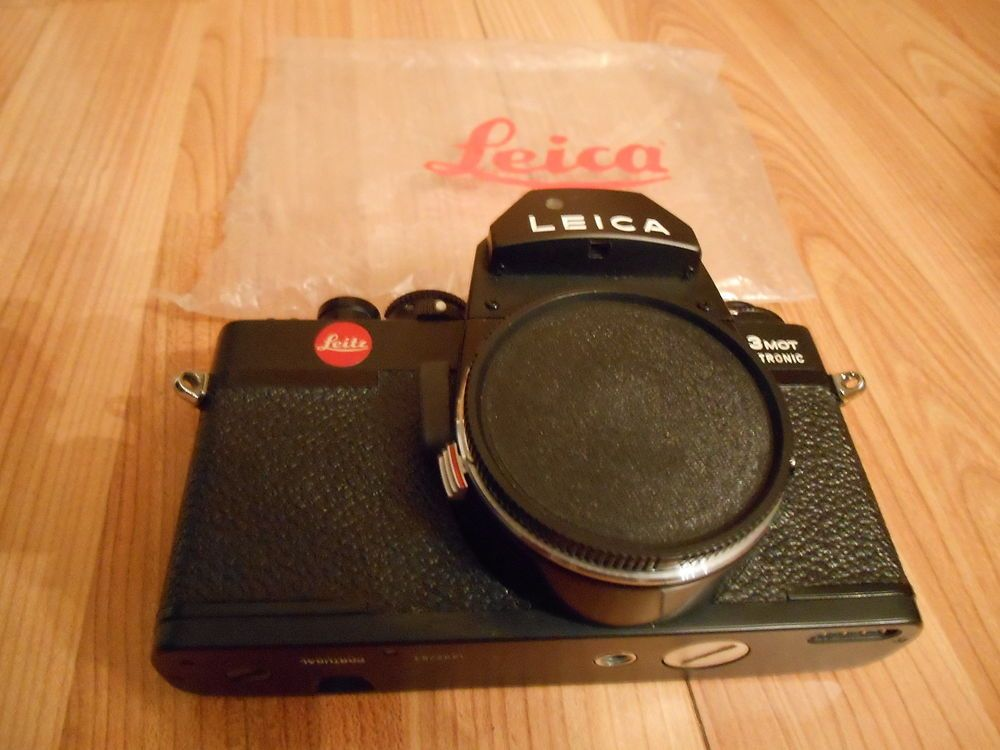 Leica R 3MOT Electronic Leitz 35mm SLR Camera Body Vintage 70's Mint Condition #Leica