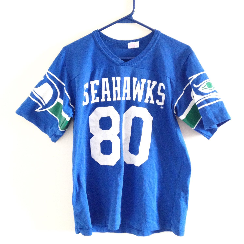half off 87985 969d5 Seattle Seahawks Vintage Tshirt/Jersey/Tshirt by ...