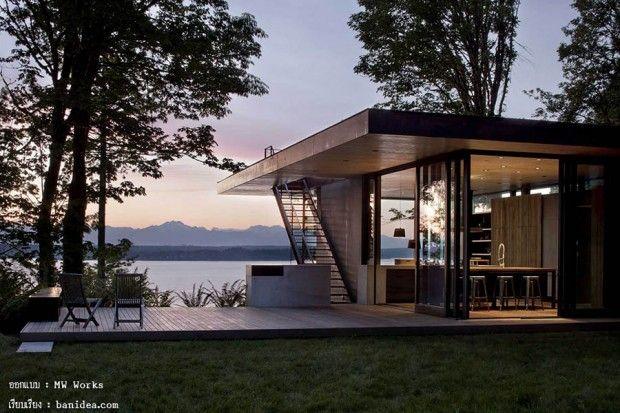 แบบบ านว วสวย House Designs Exterior Architecture House Small House Design