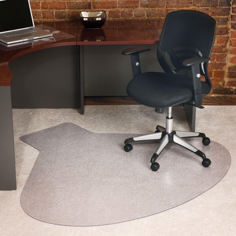 Corner Desk Chair Mat Luxury Living