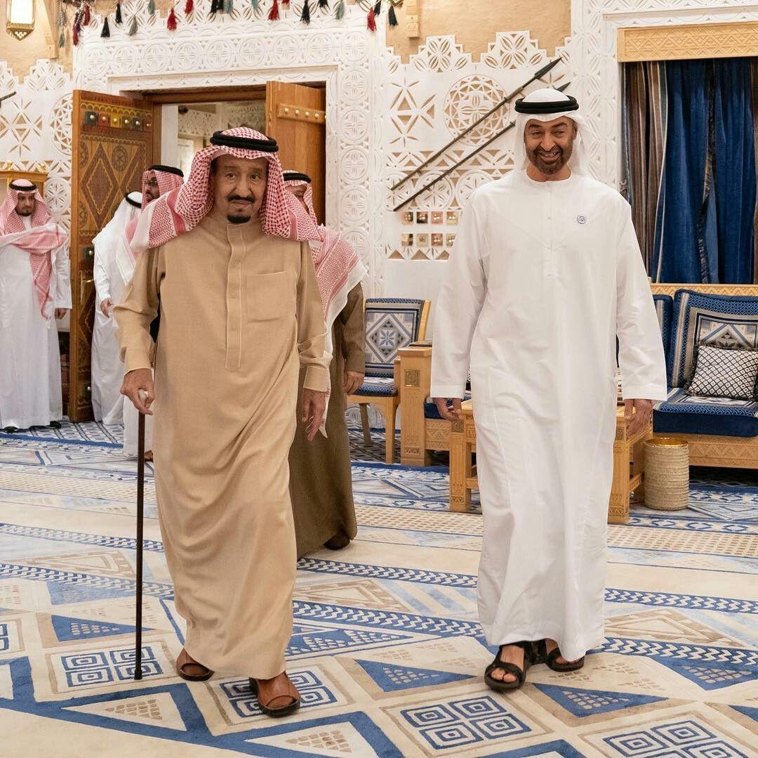 خادم الحرمين يستقبل محمد بن زايد في قصر العوجا بالدرعية ويبحثان تعزيز العلاقات الأخوية والاستراتيجية ومجمل القضاي Ramadan End Academic Dress Sheikh Mohammed