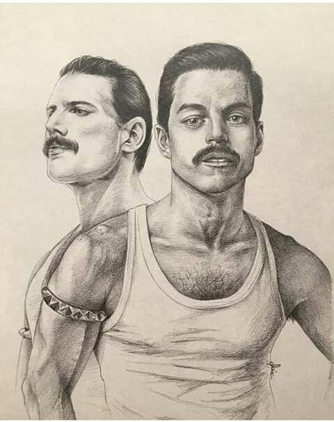 Ayer..el presente..siempre Freddie..siempre Queen ..Gracias totales..