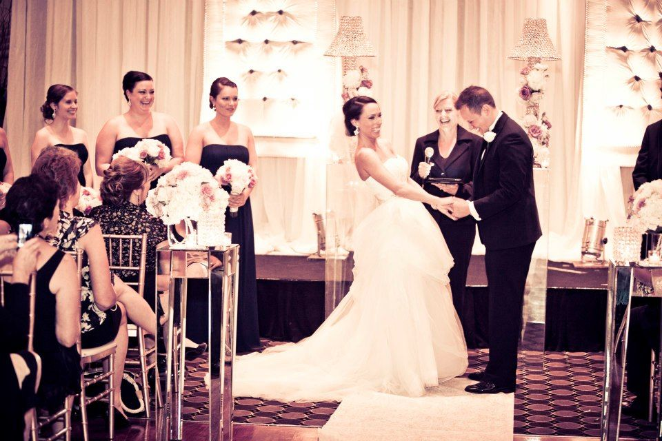 Cheap Wedding Gowns Toronto: Ceremony Decor At Eglinton Grand, Toronto