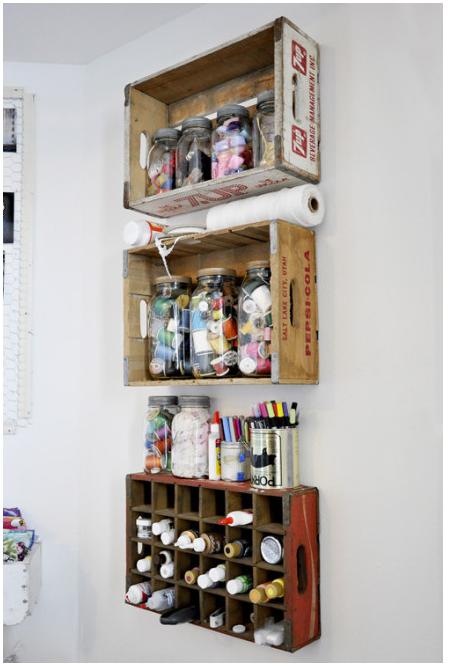 Cajas de madera #hogar #muymolon