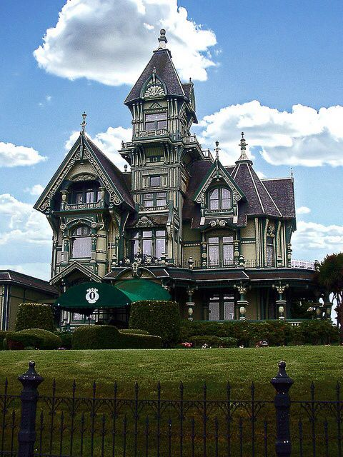 The Carson Mansion In Eureka Ca One Of The Most Famous