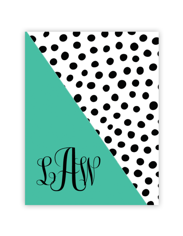 image regarding Free Printable Monogram Binder Covers named Noticed Monogram (Eco-friendly) No cost Printable Monograms Free of charge