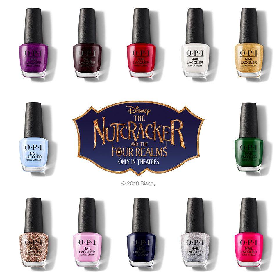 Opi The Nutcracker And The Four Realms Nail Lacquer Opi Gel Polish Opi Gel Nails Opi Nail Polish Colors