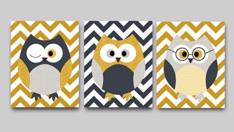 9 Cute Owl Wall Décor Ideas | Wall décor, Walls and Decoration