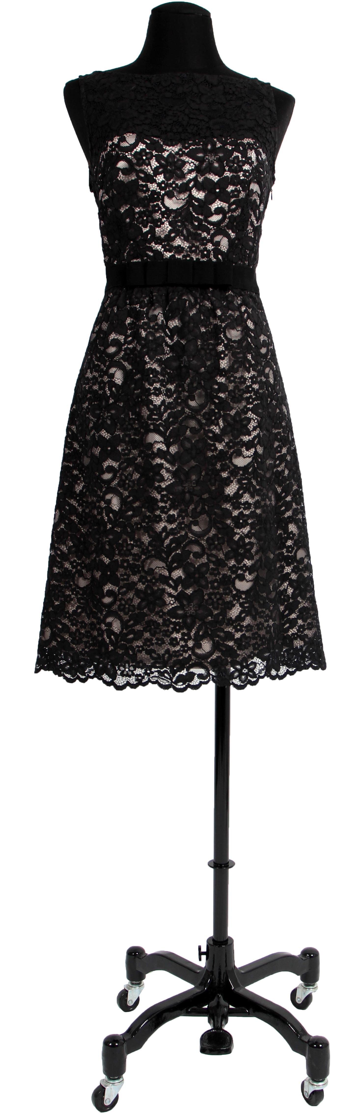 Robe dentelle noire 123