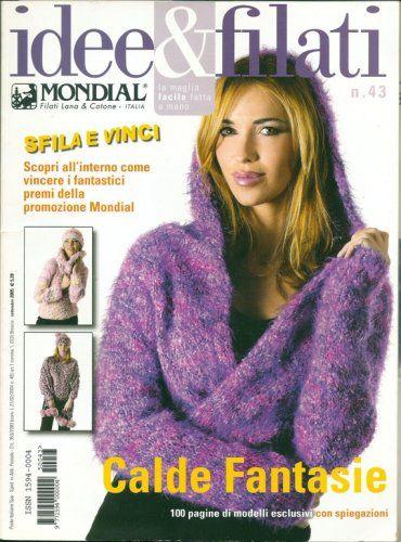 Idee Filati Mondial No 43 Knitting Pattern Magazine Sweaters