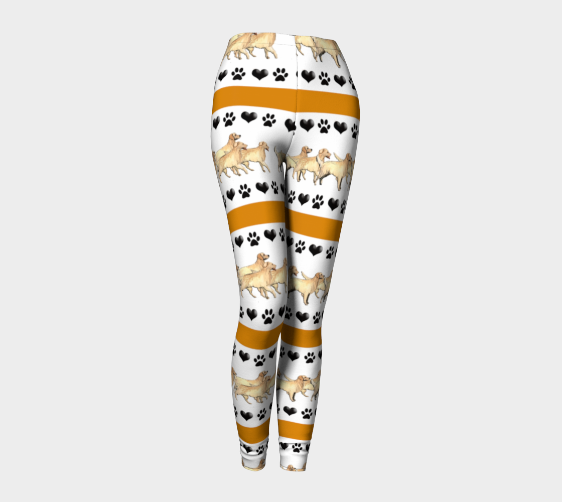 294901a6ca08d Golden Retriever leggings | sporting dogs dog lovers | Leggings ...