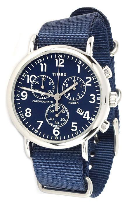 Tw2p71300 2p71300 Timex Weekender Chronograph Watch
