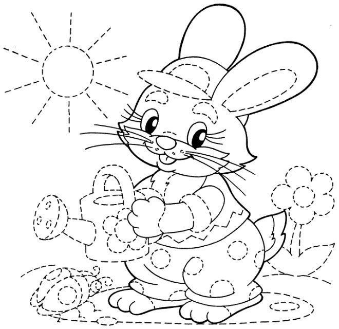 tracing coloring pages - photo#5