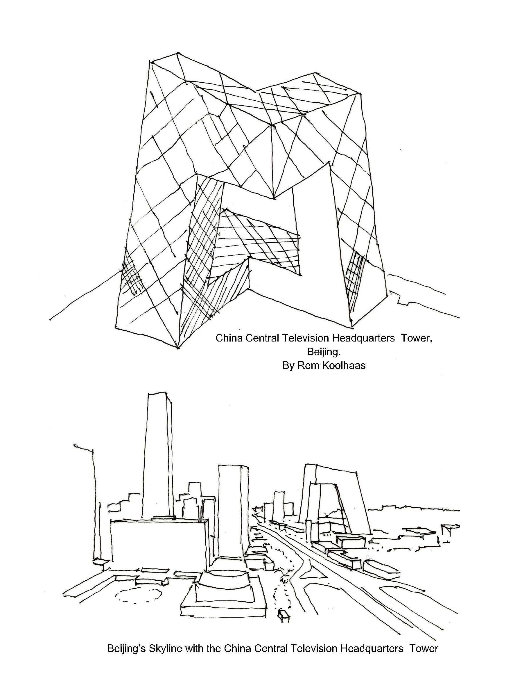 By The Rem Koolhaas Cctv Headquarters Architecture