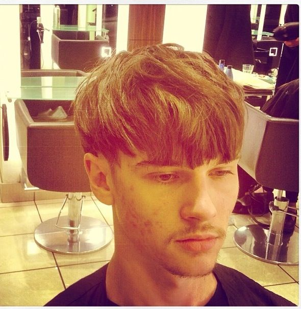 90S Hairstyles Men Men's Hair  Texture  90's  Fringe  The Heir  Pinterest