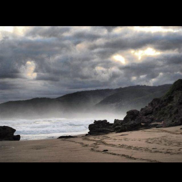 Australia's great ocean road springtime scenes on the beach