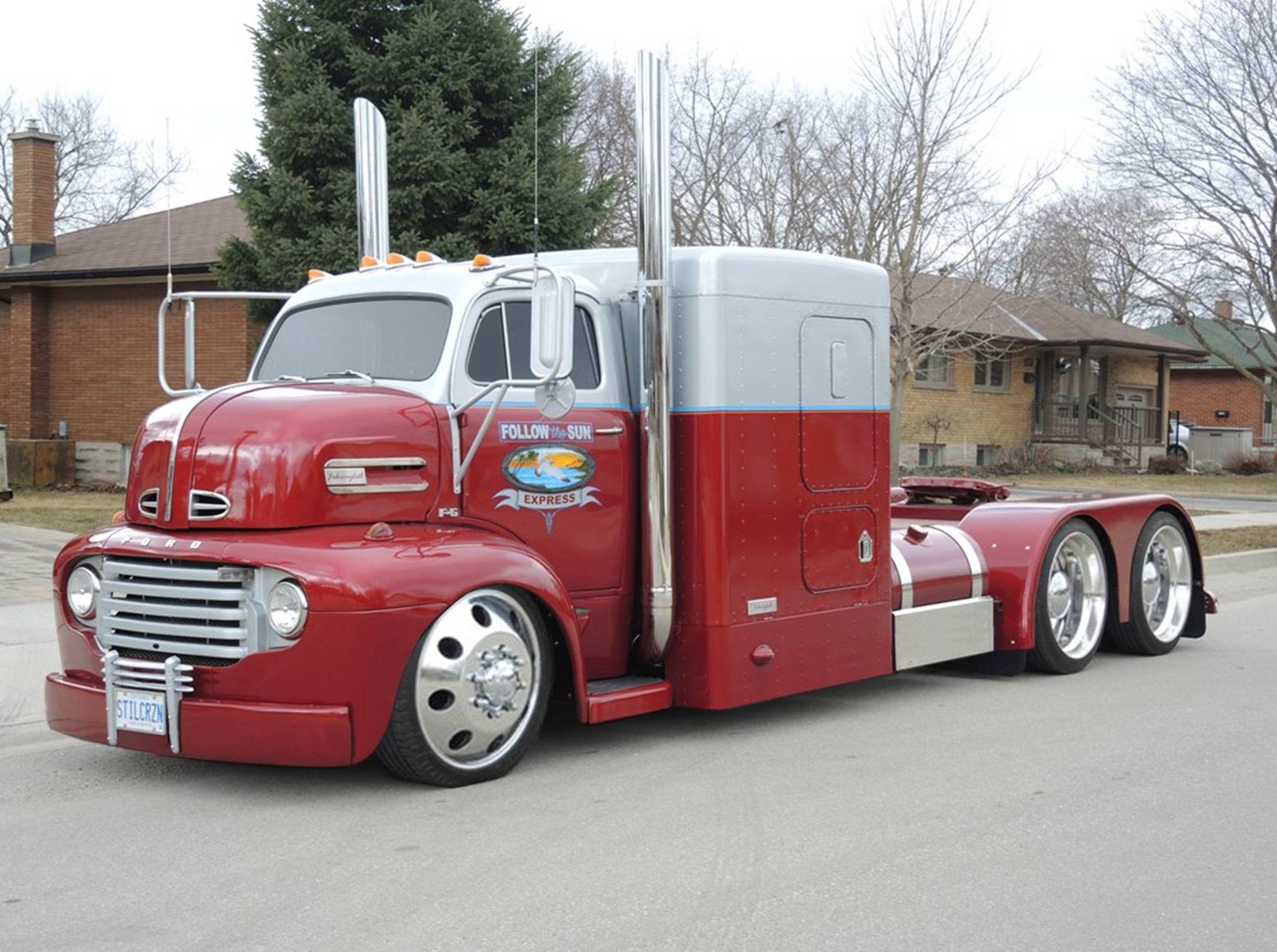 1950 ford ceo big trucks custom trucks trucks