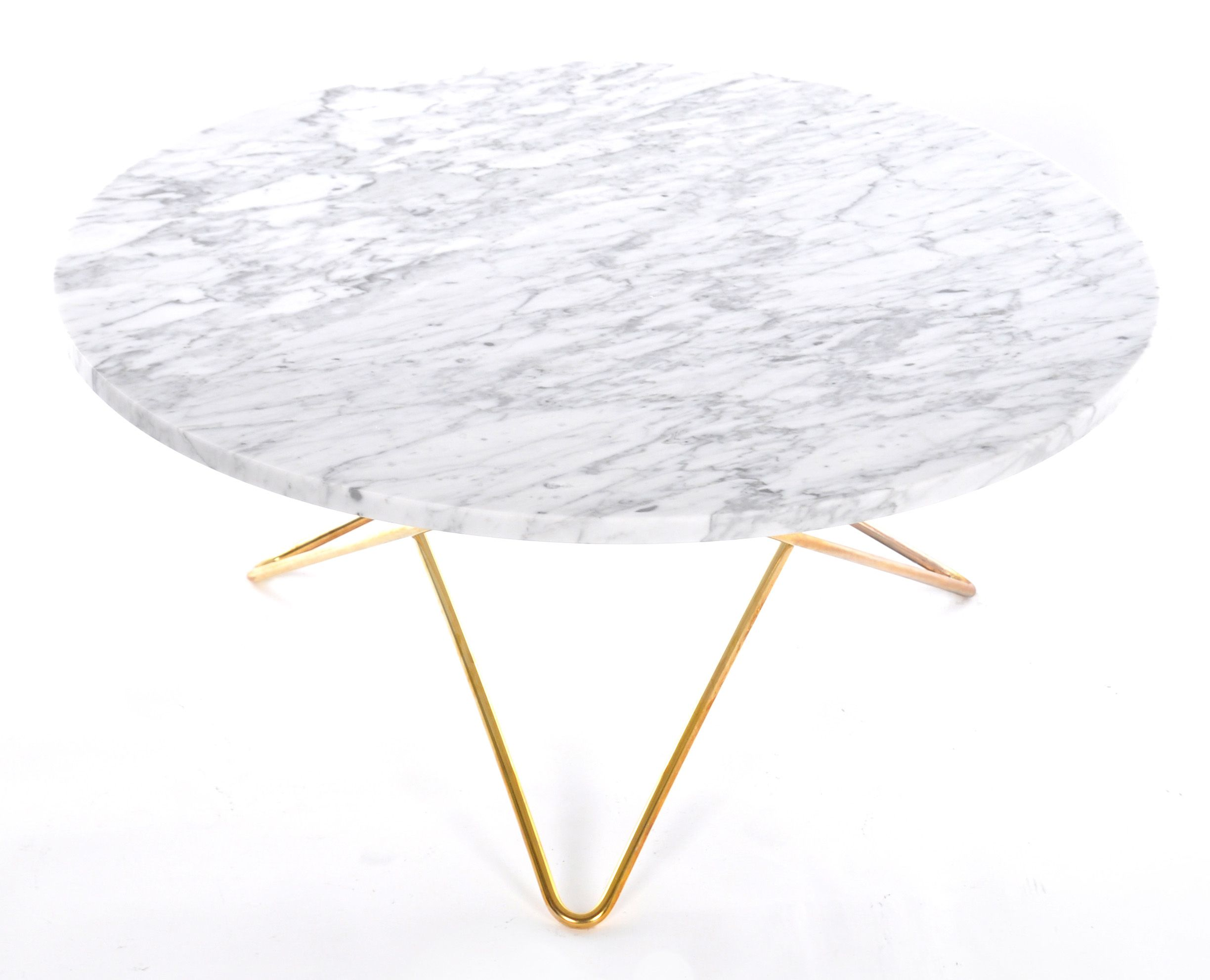 O table soffbord carrara marmor från OX Design hos ConfidentLiving se Inredning Table