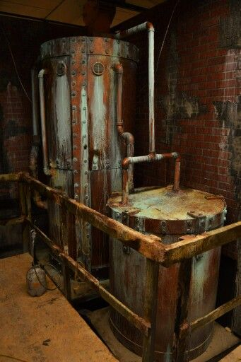 Room And House Decor Pictures: Haunted House Boiler Room Detail