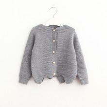 Babies Knit Crochet Cardigans Kids Girl Fashion Wool Blends Sweater 2016 Baby Girl Autumn winter ChrIstmas Outwear(China (Mainland))