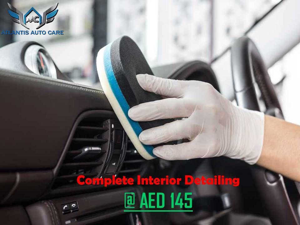 Pin by Atlantis Auto Care on Car Interior Detailing