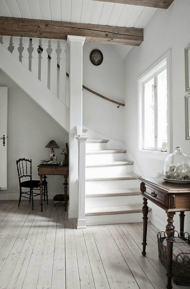 45+ Awesome Stair Railing Ideas | Painted stairs, Decor, House