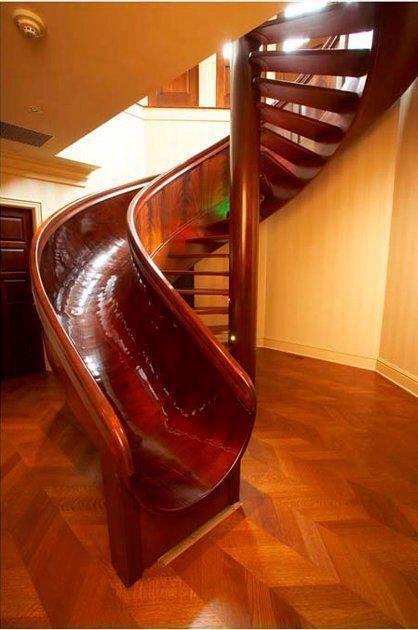 Escada escorregador - outro modelo.