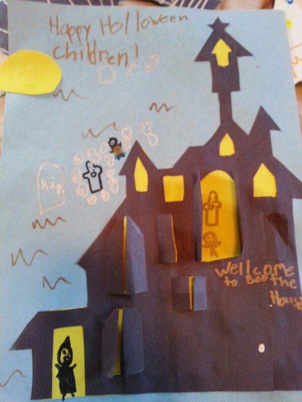 Halloween crafts with the kids