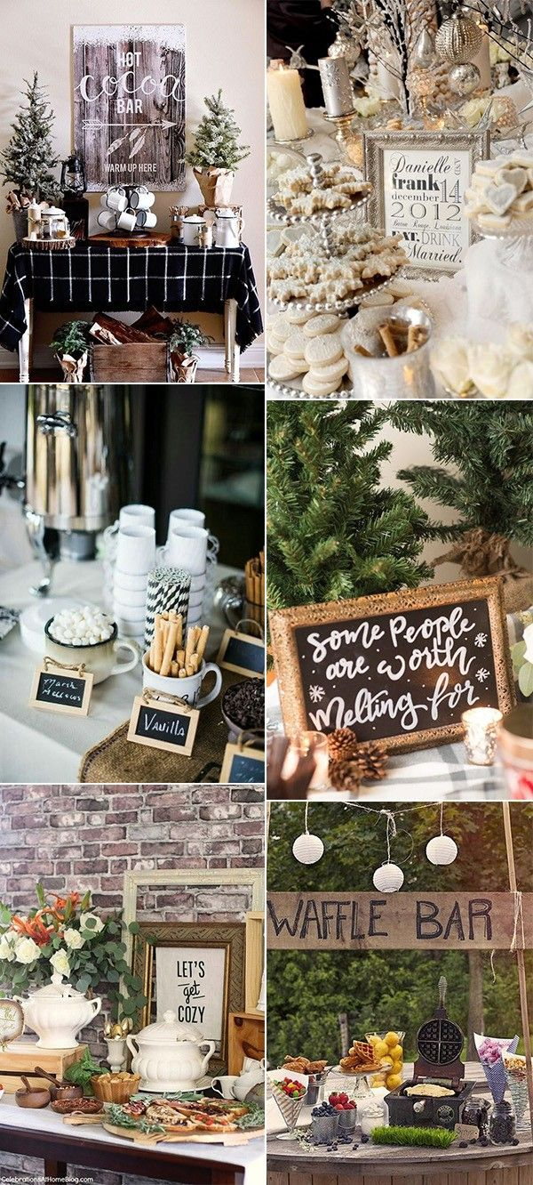 Wedding decorations for home december 2018  Whimsical Winter Bridal Shower Ideas  Page  of  in
