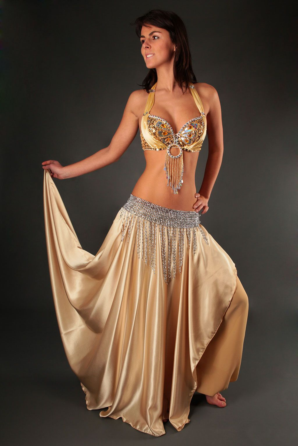 3995acdd8b4 Jupe saroual de danse orientale