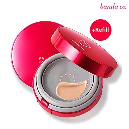 Face Skin Care banila co VV Bouncing Cushion SPF50 PA 15g  Rifill 15g BE20 ** Find out more about the great product at the image link.